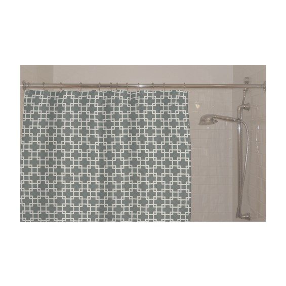 Luxe Flagstone Shower Curtain