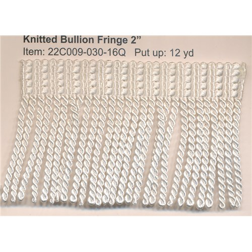 knitted bullion fringe 2