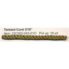 R22C002 TWISTED CORD 3/16""