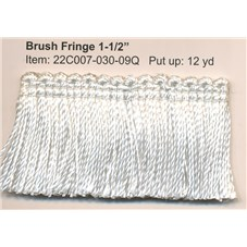 R22C007 BRUSH FRINGE 1 1/2""